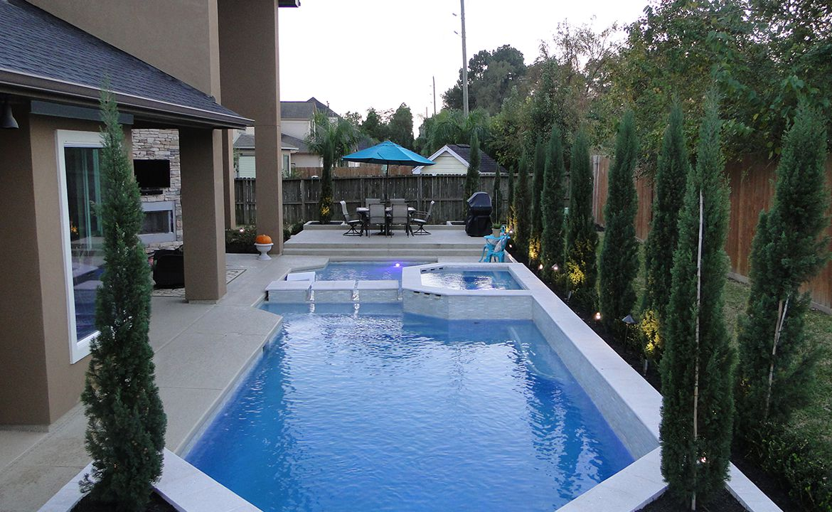 Inground Swimming Pool Builders in Spring TX